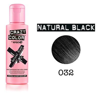 CRAZY COLOR COLORATION CRAZY COLOR BLACK NOIR (100ML)