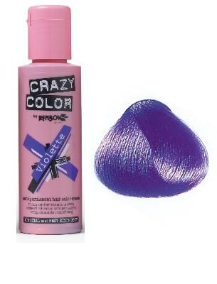 CRASYCOL COLORATION CRAZY COLOR VIOLETTE (100ML)