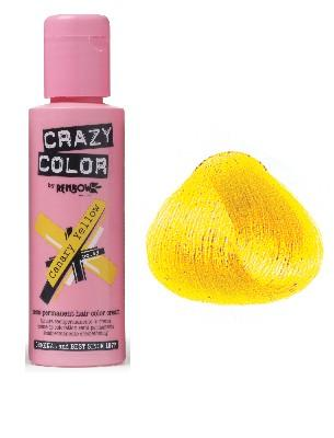 CRAZY COLOR COLORATION CRAZY COLOR CANARY YELLOW (100ML)