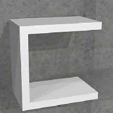 COLOR ETAGERE MISSTIF INTERCOIFFEUSE