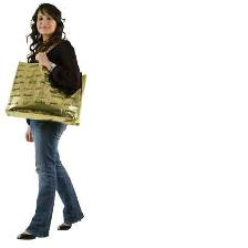SAC GOLDEN BAG INTEGAL BEAUTY 50*60 CM